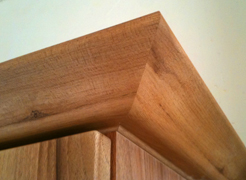 Cornice mitre joint